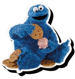 Sesame Street Cookie Monster Funky Chunky Magnet