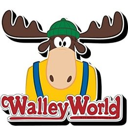 Walley World Logo Funky Chunky Magnet