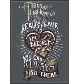 Harry Potter Never Leave Us Flat Magnet