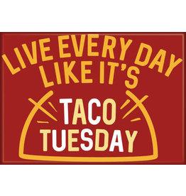Snorgtees Taco Tuesday Flat Magnet