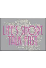 Gilmore Girls Life's Short Flat Magnet