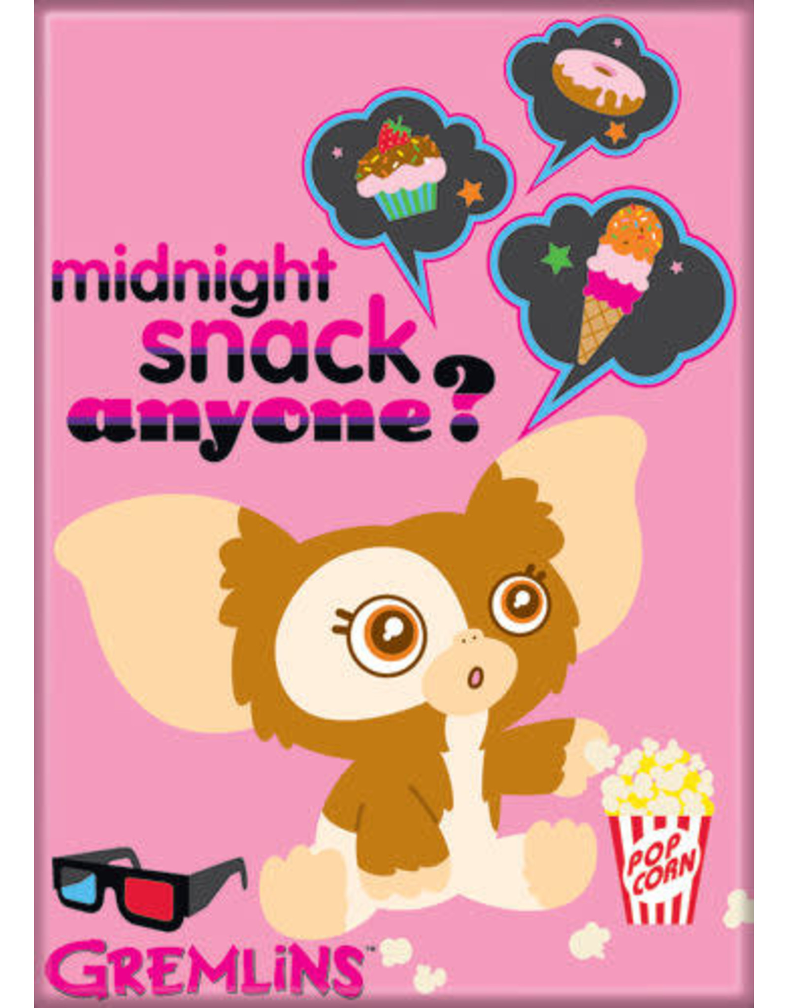 Gizmo Snack Flat Magnet