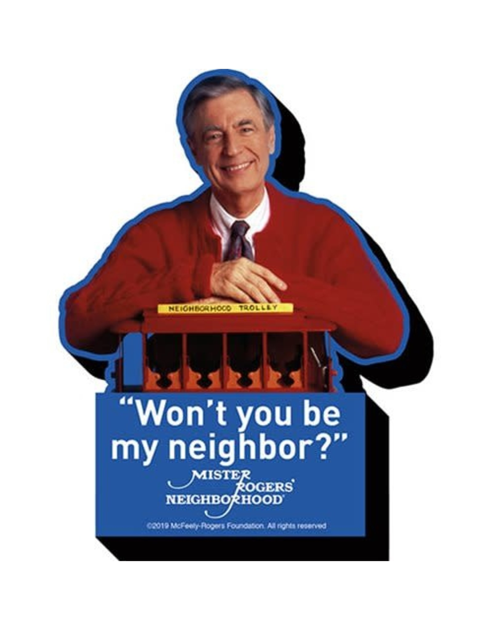 Mr Rogers Won't You Be My Neighbor Funky Chunky Magnet