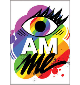 Eye Am Me Flat Magnet