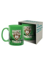 Bob Ross Happy Little Trees Mug