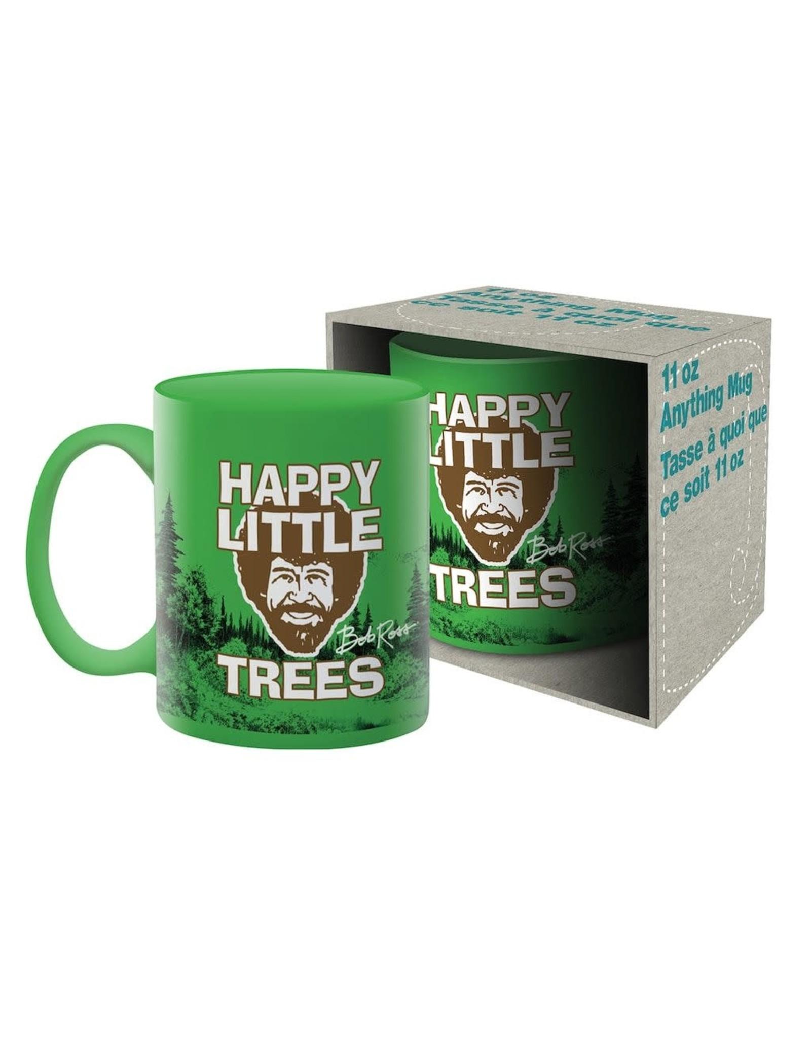 NMR Bob Ross Happy Little Trees Mug