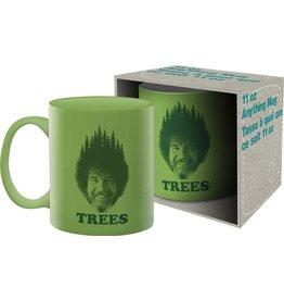 Bob Ross Trees Mug