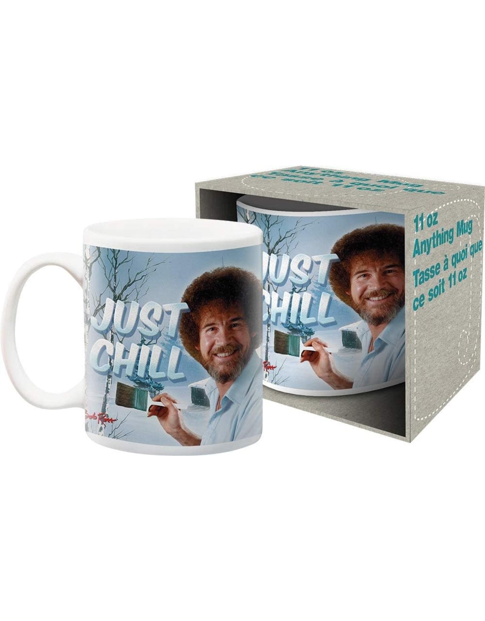 Bob Ross Just Chill Mug