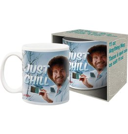 Bob Ross Just Chill Mug