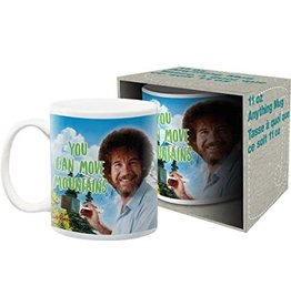 Bob Ross Move Mountains Mug