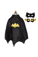 Creative Education Bat Cape Set with Mask and Cuffs