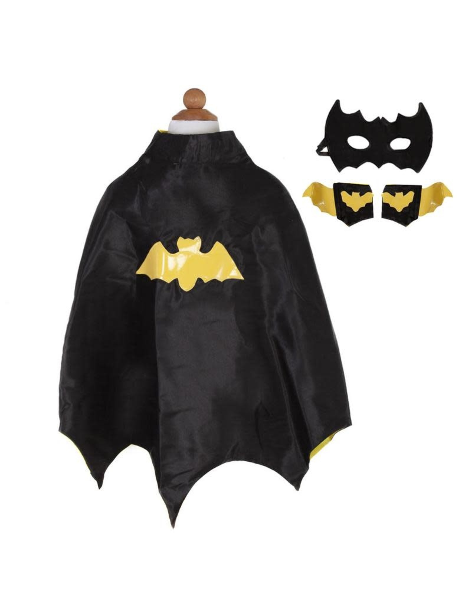 Great Pretenders Bat Cape Set with Mask and Cuffs
