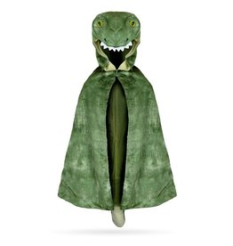 Creative Education T-Rex Hooded Cape Green