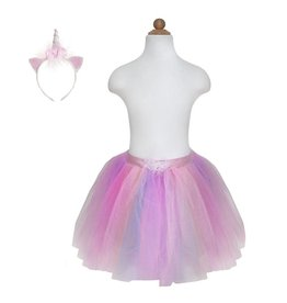 Great Pretenders Unicorn Tutu and Headband Set Pink