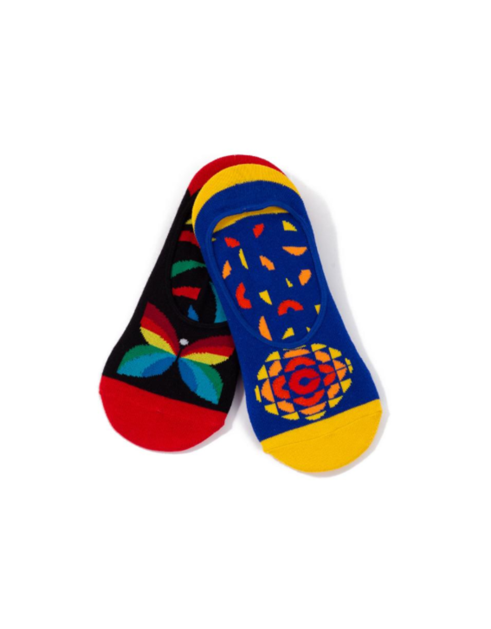Main & Local CBC Retro Logo Socks - ankle socks