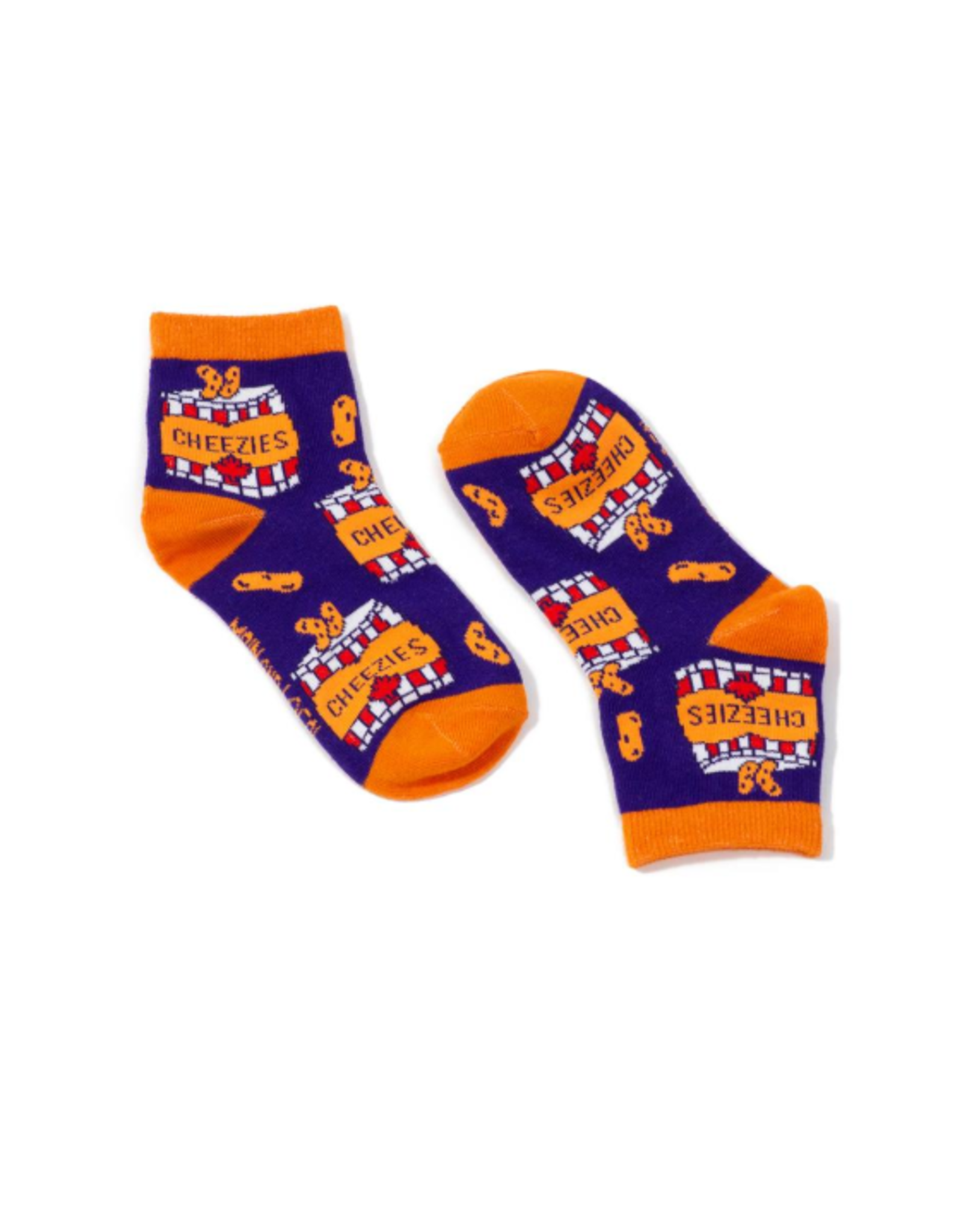 Main & Local Children's Canadian Cheezies Socks
