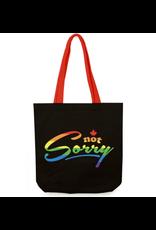 Main & Local Not Sorry Tote Bag