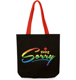 Main & Local Not Sorry Tote Bag