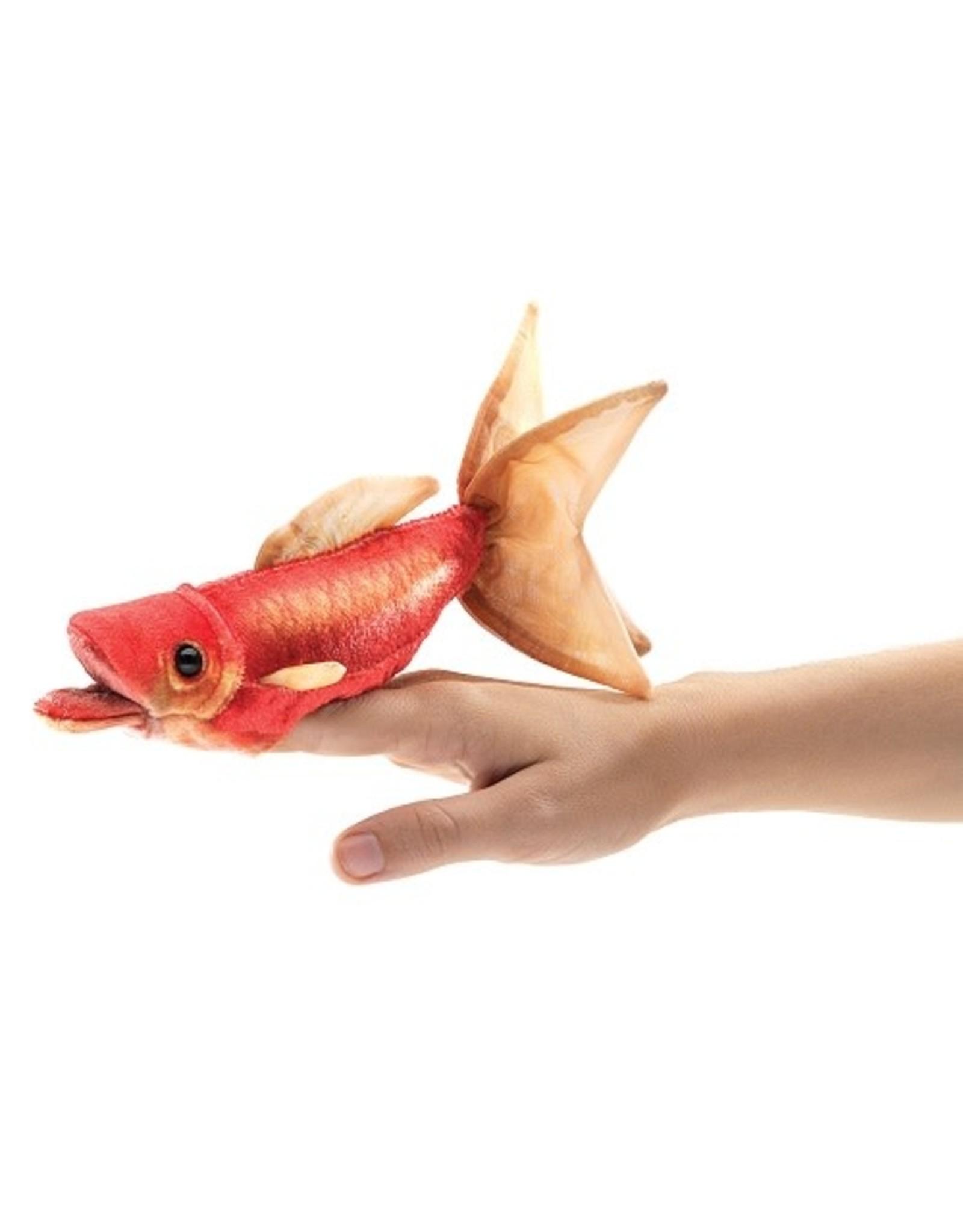 Folkmanis Folkmanis Mini Goldfish Finger Puppet