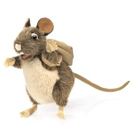 Folkmanis Folkmanis Packrat with Backpack Puppet