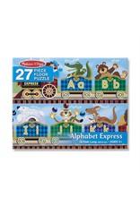 Melissa & Doug Melissa & Doug: 27 pc Alphabet Express Floor Puzzle
