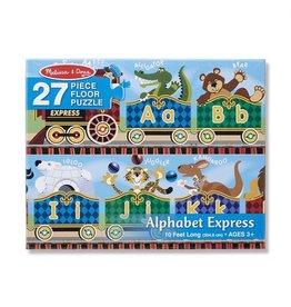 Melissa & Doug Melissa & Doug: Alphabet Express Floor Puzzle