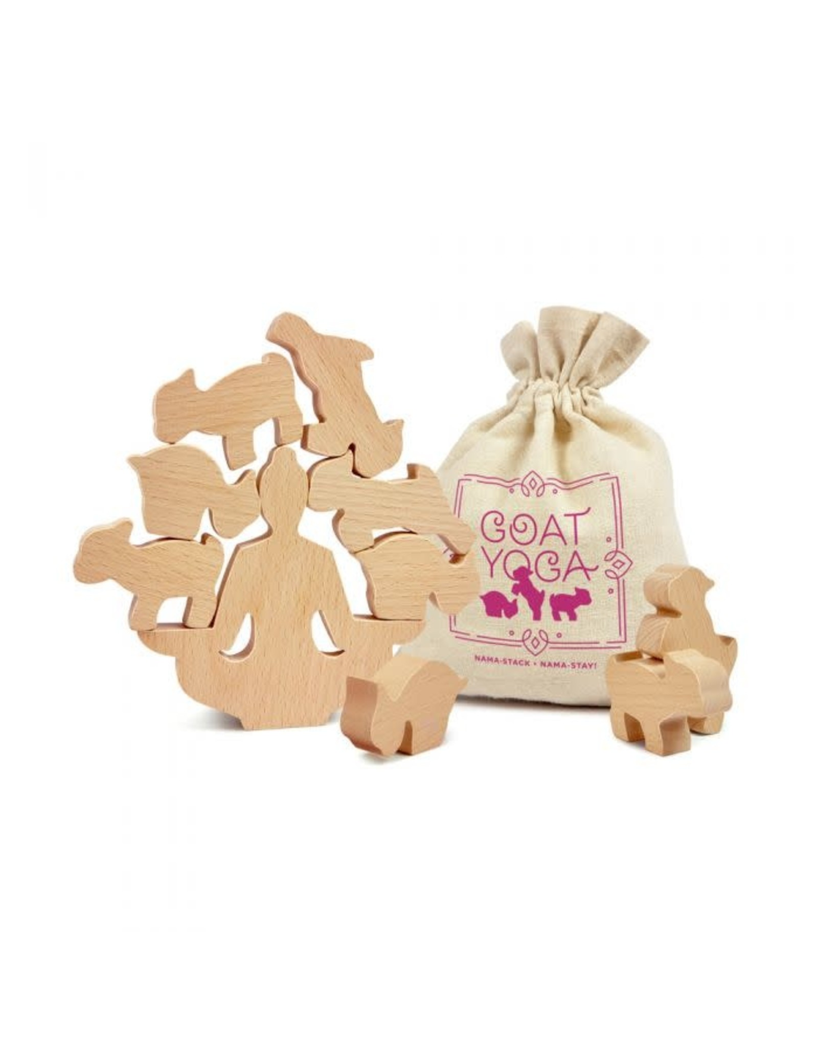 Goat Yoga - Wooden Stacking Game