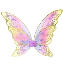 Great Pretenders Glitter Rainbow Wings - Gold