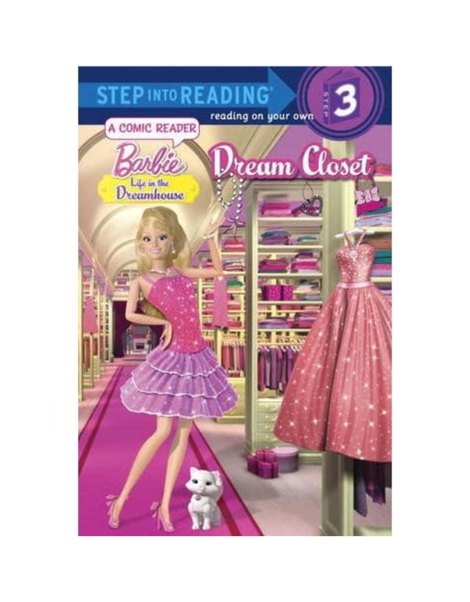 Step Into Reading Barbie Dream Closet S3