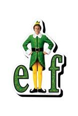 Elf Logo Funky Chunky Magnet