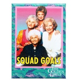 Golden Girls Squad Goals Flat Magnet