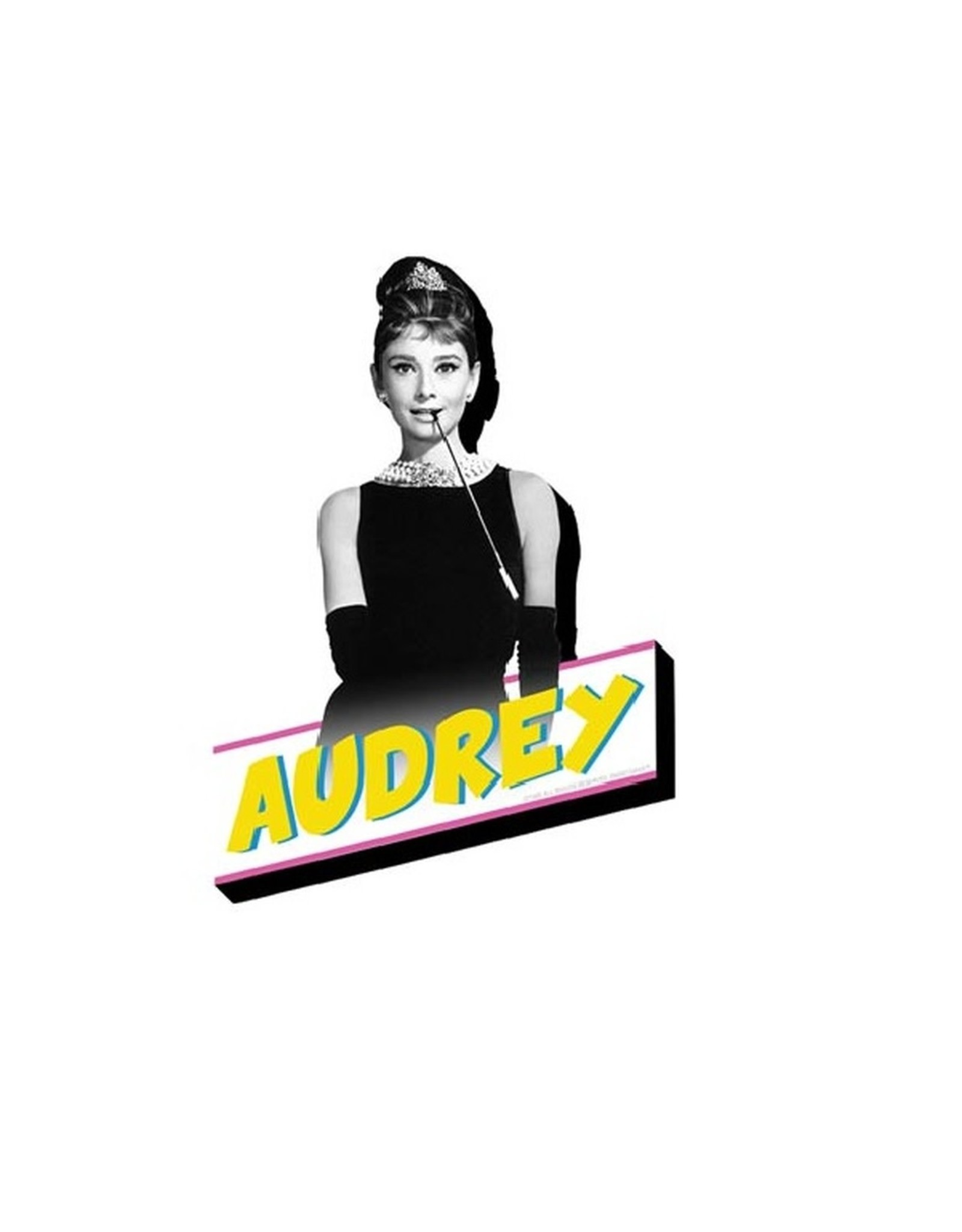 Audrey Breakfast Funky Chunky Magnet