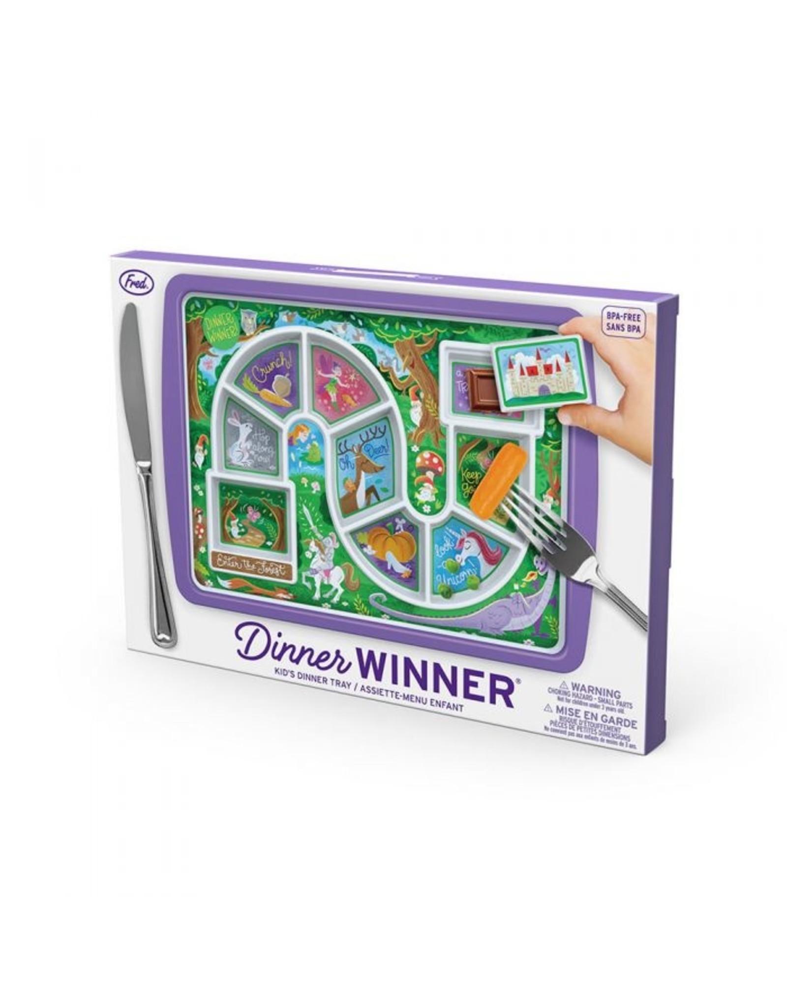Fred Dinner Winner - Forest Plate