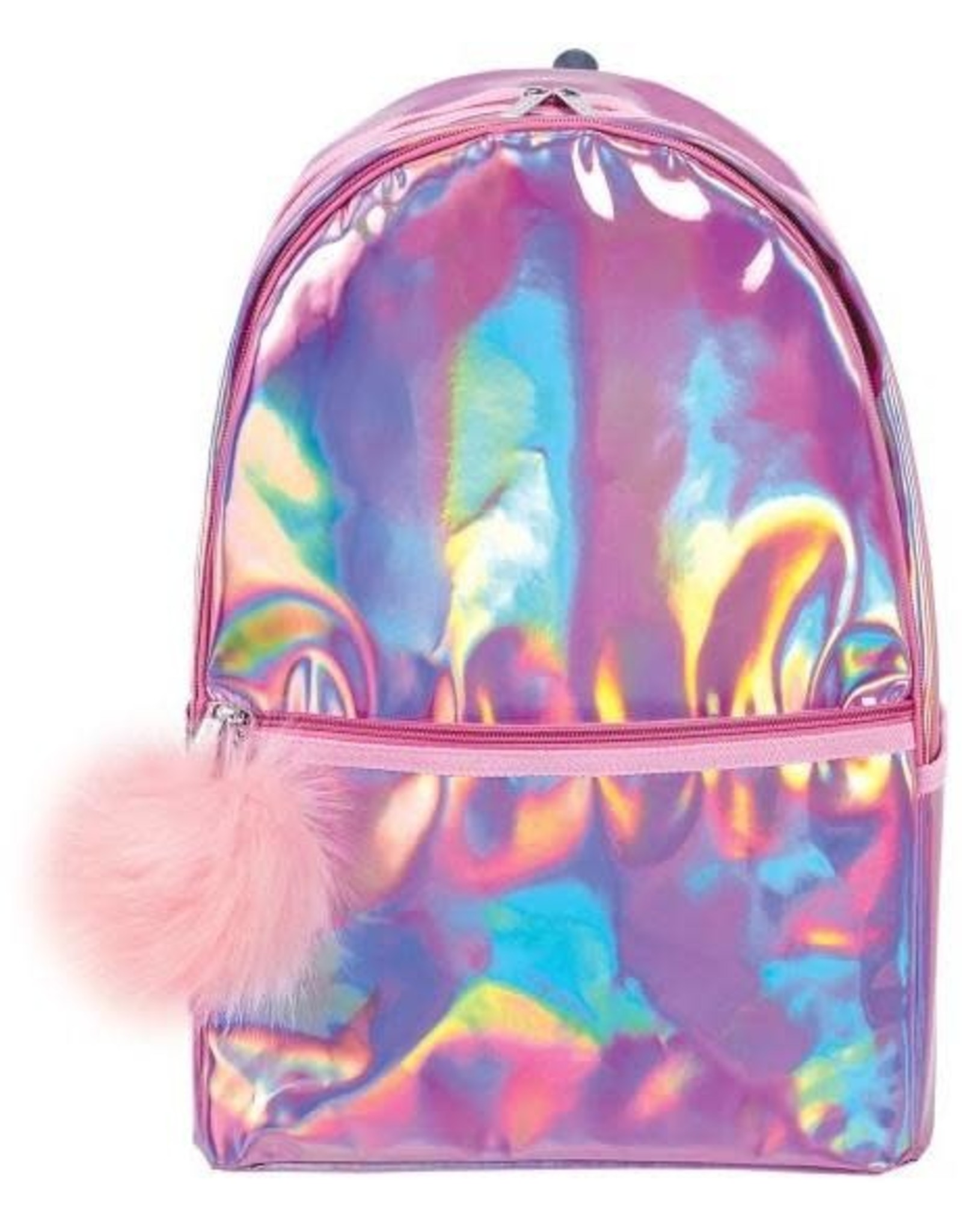 Pink Holographic Backpack - Clearance