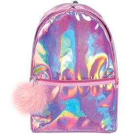 Iscream Pink Holographic Backpack - Clearance