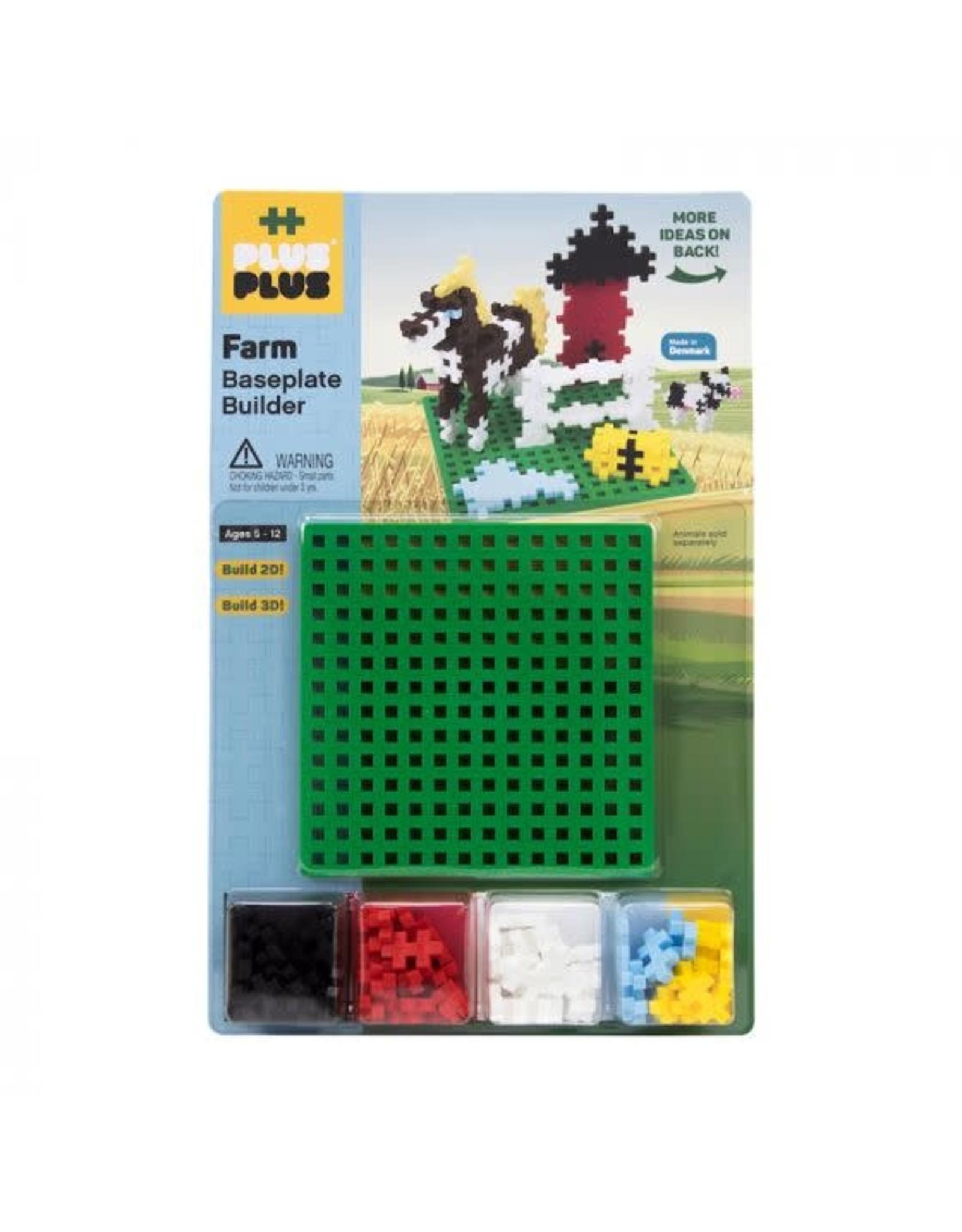 Plus-Plus Plus-Plus Farm Builder + Baseplate