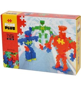 Plus-Plus Plus-Plus Mini Neon Robots 170 pc