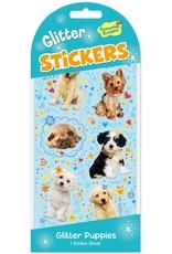Peaceable Kingdom Glitter Puppies Stickers