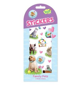 Peaceable Kingdom Family Pets Stickers