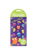 Peaceable Kingdom Glowing Happy Owl Stickers