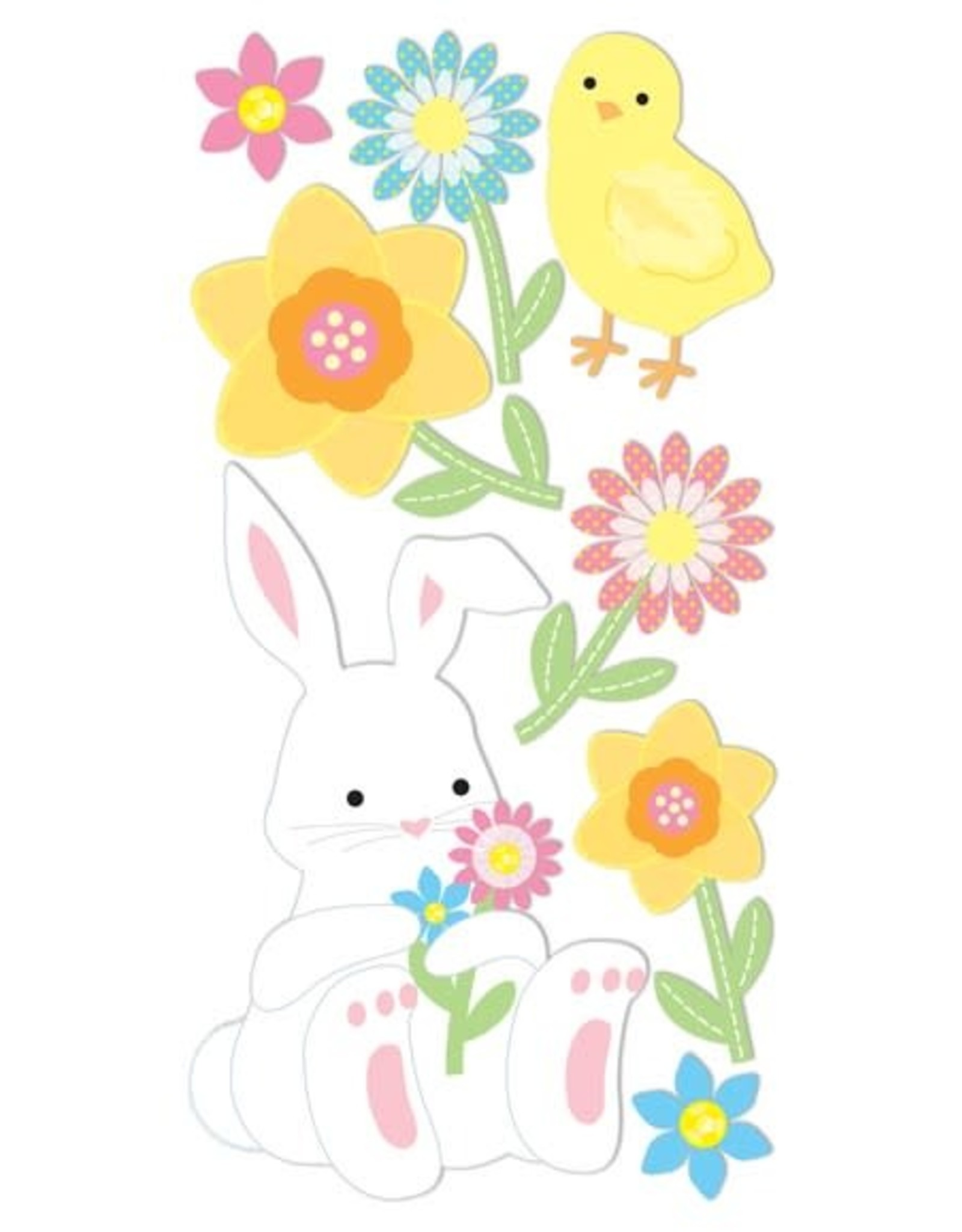 Easter Bunnies Essentials Stickers
