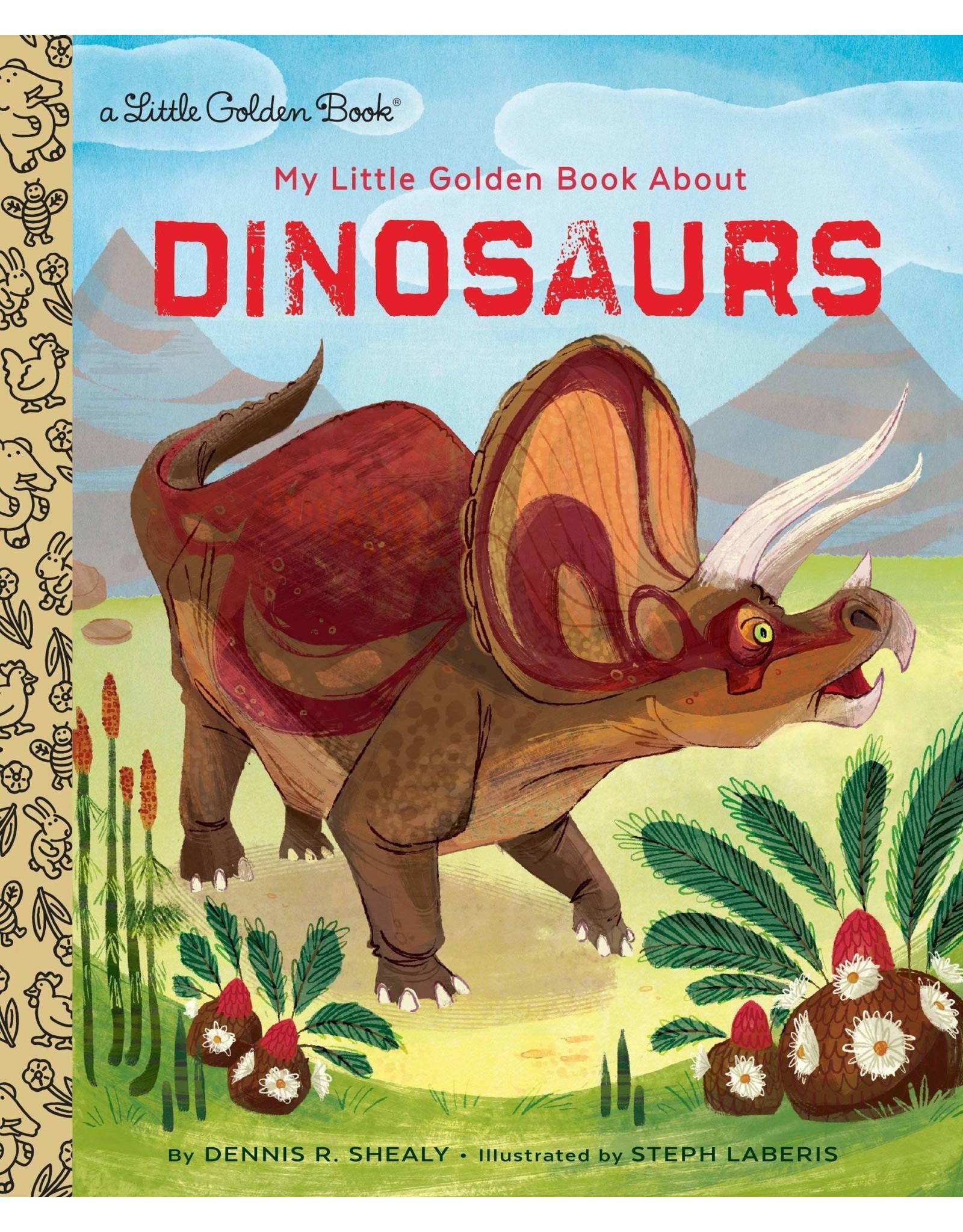 Little Golden Books My Little Golden Book About Dinosaurs
