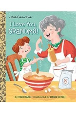 Little Golden Books I Love You Grandma - LGB