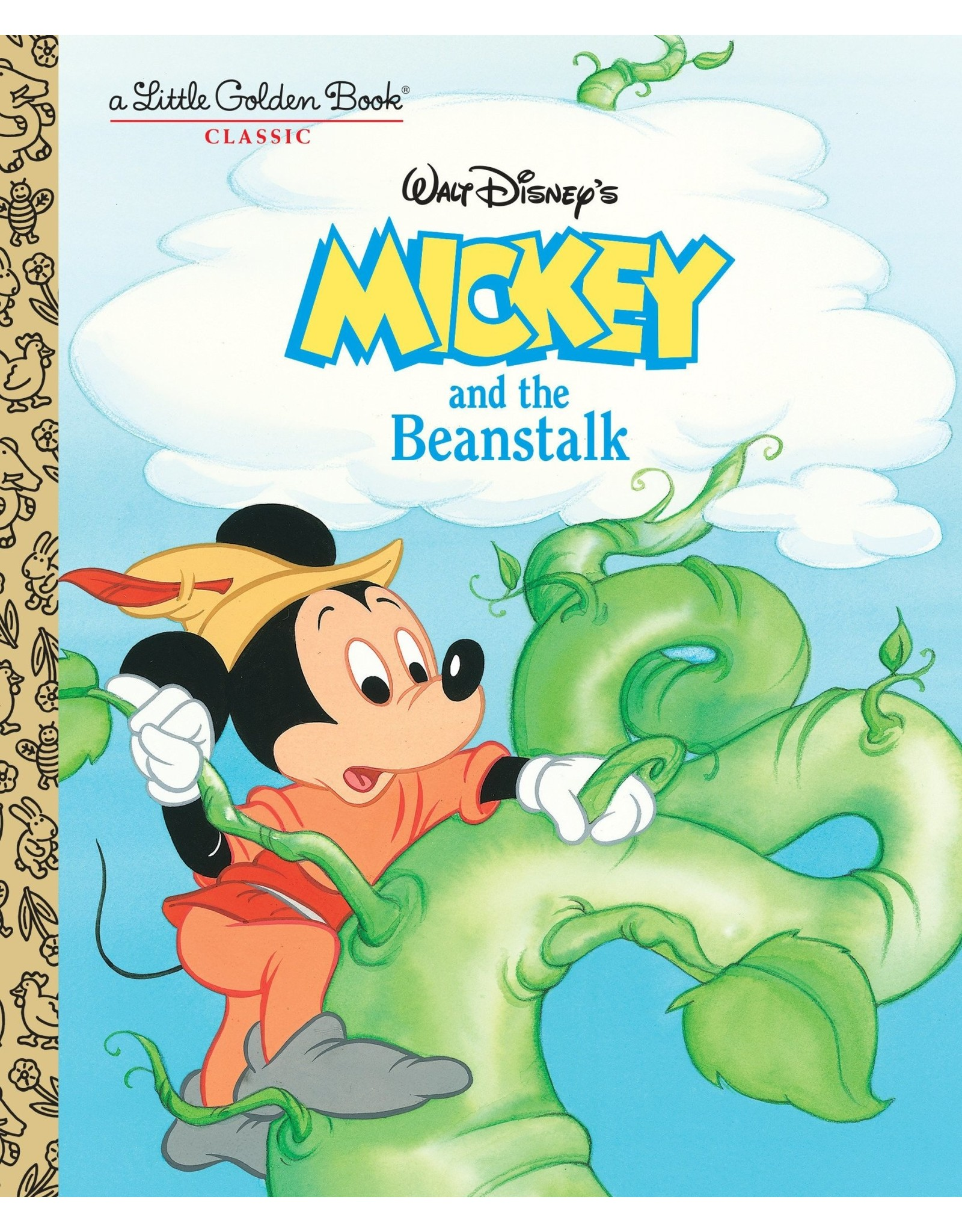 Little Golden Books Mickey and the Beanstalk LGB