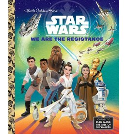 Little Golden Books Star Wars We are the Resistance LGB