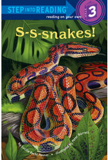 Step Into Reading S-S-Snakes S3