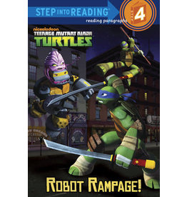 Step Into Reading TMNT Robot Rampage! S4