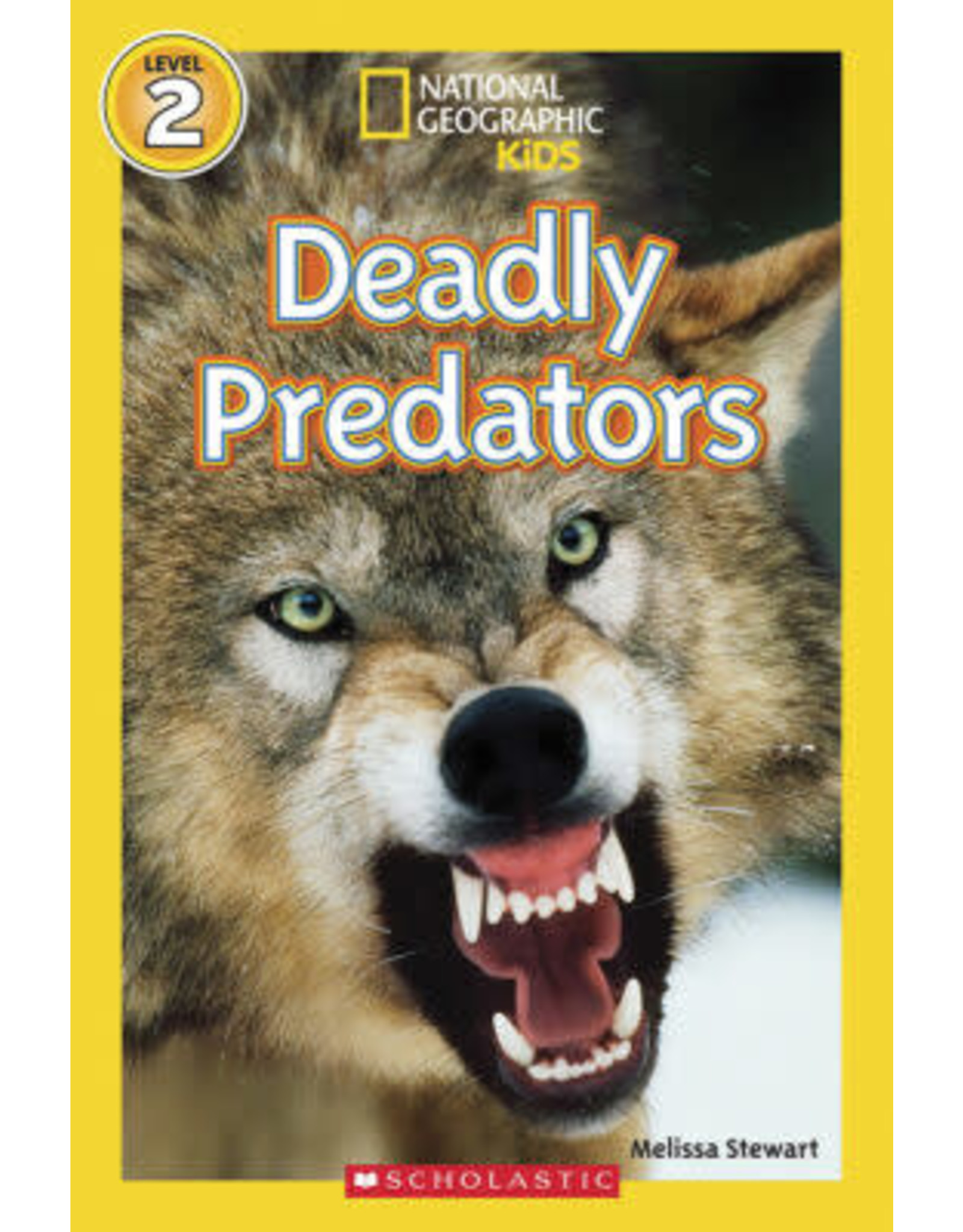Step Into Reading NGR Deadly Predators L2