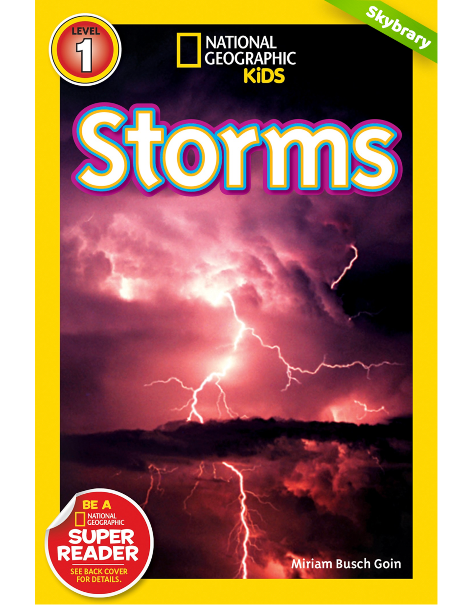 Step Into Reading NGR Storms L1