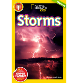 Step Into Reading National Geographic Readers: Storms (Level 1)
